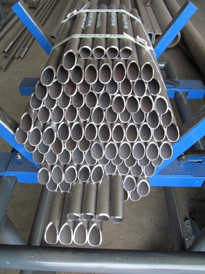 Milled tubes for crane construction