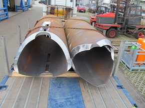 Prefabricated pipe for offshore industry