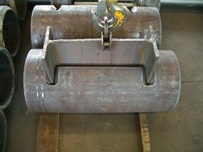 Durchdringung Träger/Rohr mit Nahtvorbereitung