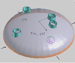 Programmierter Behälterboden
