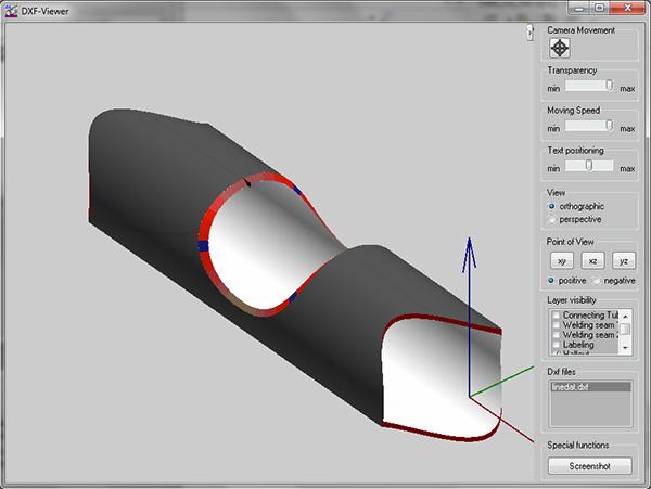 3D-Modell eines berechneten Bauteils